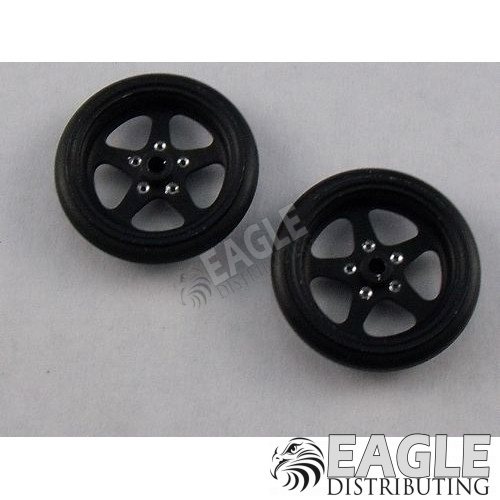 Pro Star 3/4 Drag Front Wheels, Black