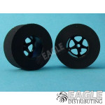 1 3/16 dia x .500 Black Pro Star Drag Tire