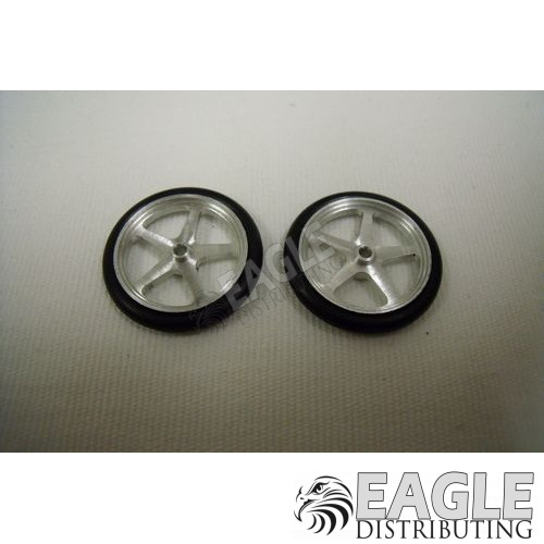 Scale Series 17 Star Drag Front Wheels