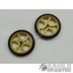 17in Scale O-ring Gold Spider Drag Front wheels
