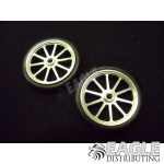 17in Scale O-ring 10 Spoke Drag Front Wheels