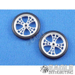 17in Scale O-ring Web Drag Front Wheels