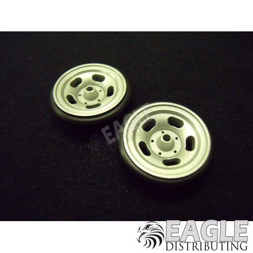 US Mag Front Wheels, Glass Bead Finish