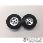 3/32 x 1 3/16 x .385 SS Cragar Rear Drag Wheels