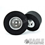 3/32 x 1 3/16 x .500 Glass Bead Halibrand Drag Rear Wheels