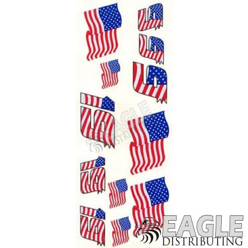 Number 9 & 19 Flag Numbers