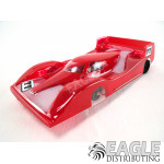 Red Mazda Rental RTR 4in C21 M25 Motor 1/8 Axle