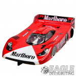 "1:24 Scale RTR, 4"" Cheetah 21 Chassis, Hawk 7, 64 Pitch, GT1, Porsche Custom Body, Marlboro #1 Livery"