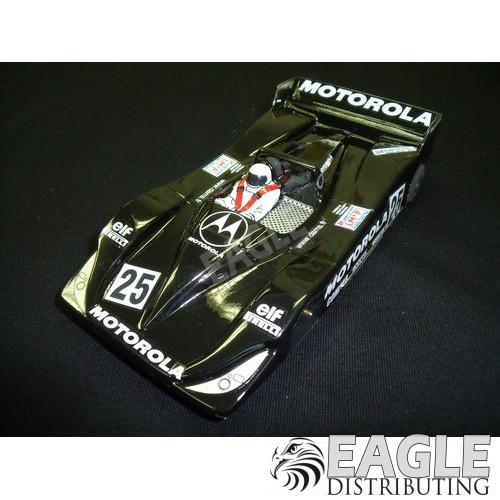1:24 Scale RTR, Custom Lola Judd Motorola #25 Body, Cheetah 21 Chassis, Hawk 7, 64 Pitch-JK20417139