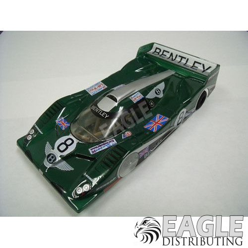 1:24 Scale RTR, Custom Bentley #8 Body, Cheetah 21 Chassis, Hawk 7, 64 Pitch-JK20417145