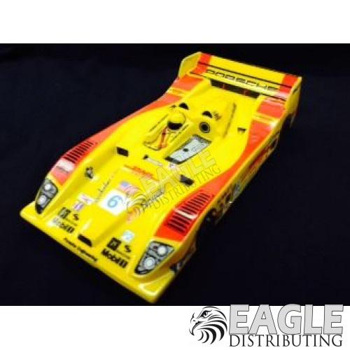 "1:24 Scale RTR, 4"" Cheetah 21 Chassis, Hawk 7, 64 Pitch, LMP, Porsche RS Custom Body, DHL #6 Livery-JK20417154"