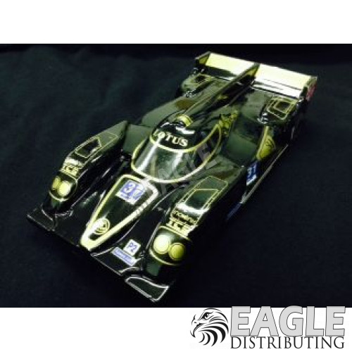 "1:24 Scale RTR, 4"" Cheetah 21 Chassis, Hawk 7, 64 Pitch, LMP, Lola B12 Custom Body, Lotus #31 Livery-JK20417162D"