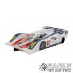 "1:24 Scale RTR, 4"" Cheetah 21 Chassis, Hawk 7, 64 Pitch, LMP, Lola B12 Custom Body, Martini #4 Livery"