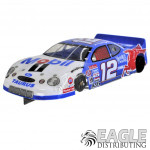 """1:24 Scale RTR, 4"""" Cheetah 21 Chassis, Hawk 7, 64 Pitch, Stock Car, Ford Custom Body, Mobil 1 #12 Livery"""
