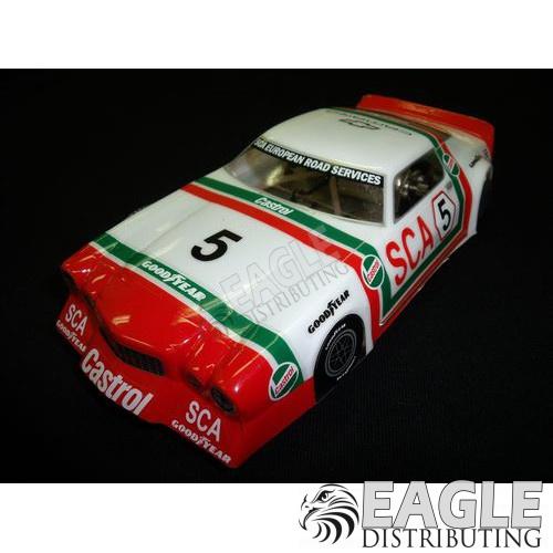"1:24 Scale RTR, 4"" Cheetah 21 Chassis, Hawk 7, 64 Pitch, Vintage, 71 Camaro Custom Body, Castrol #5 Livery-JK204171VTA2"