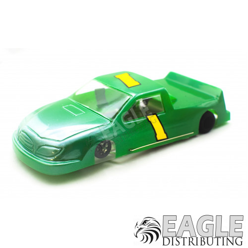 """1:24 Scale RTR, 4"""" Cheetah 21 Chassis, Hawk 7, 64 Pitch, Nastruck, Toyota Painted Body-JK204172G"""