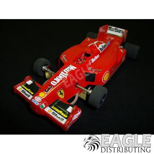 1:24 Narrow Open Wheel RTR, F1 Body, Custom Marlboro Ferrari Livery-JK2081711