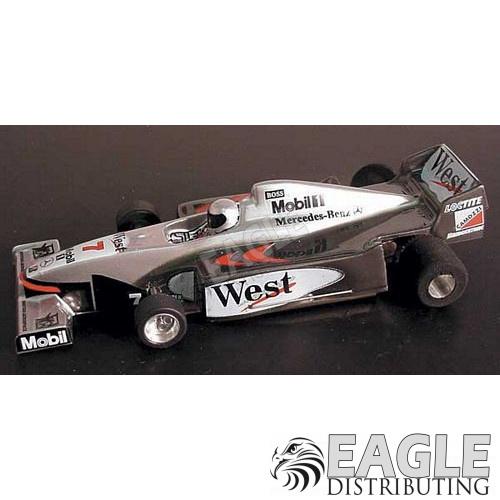 1:24 Narrow Open Wheel RTR, F1 Body, Custom West McClaren Mercedes Body-JK2081712