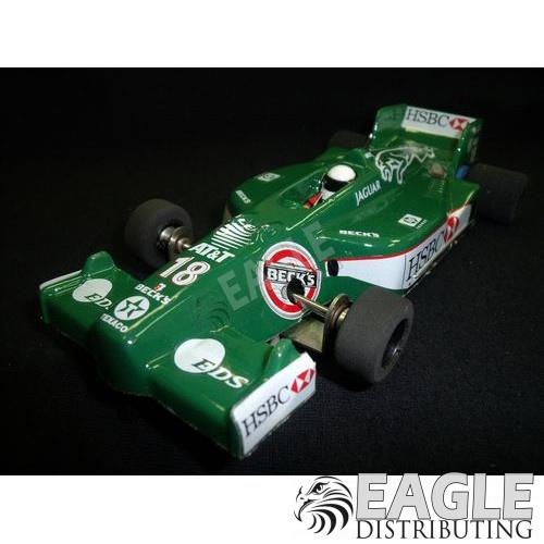 1:24 Narrow Open Wheel RTR, F1 Body, Custom Jaguar Livery-JK2081714