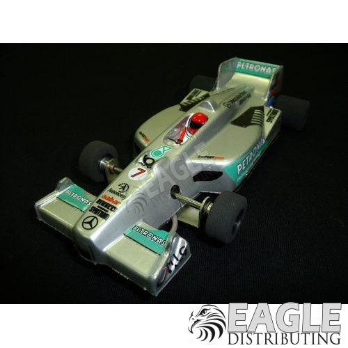 1:24 Narrow Open Wheel RTR, F1 Body, Custom Petronas Mercedes Livery-JK2081717