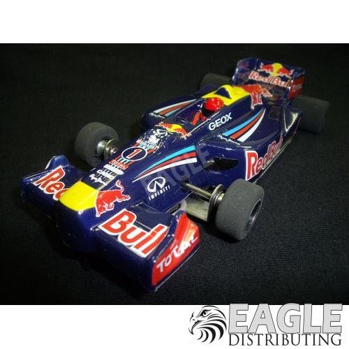 1:24 Narrow Open Wheel RTR, F1 Body, Custom Red Bull Ininity Livery-JK2081718