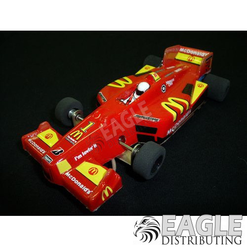 1:24 Narrow Open Wheel RTR, Champ Car Body, Custom McDonalds #1 Livery-JK208171CH1