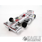 1:24 Scale Wide Indy Open Wheel RTR Car #12 Verizon Silver