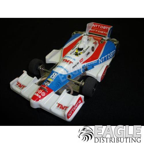 1:24 Scale Wide Indy Open Wheel RTR Car #8 NTT Data-JK2081728