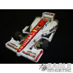 1:24 Scale Wide Indy Open Wheel RTR Car #3 Verizon (White)