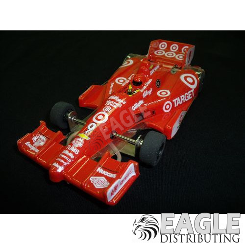 1:24 Scale Wide Indy Open Wheel RTR Car, #9 Target-JK2081729