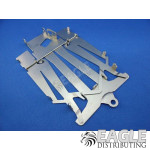 4in Cheetah 21 Stamped Steel Flexi Chassis