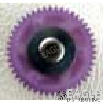 45 Tooth, 80 Pitch, 3/32 Bore Straight Polymer Spur Gear