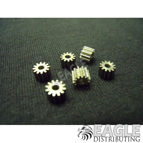 12 Tooth, 64 Pitch press-on pinion gear