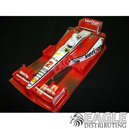 Wide Indy Open Wheel Body Custom Verizon Red #2 Livery-JK61132
