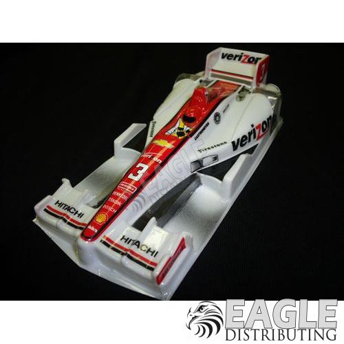 Wide Indy Open Wheel Body Custom Verizon White #3 Livery-JK61133