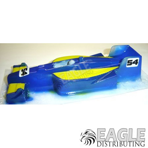 Narrow GForce IRL Car Body .010 Painted-JK61192P