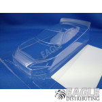 4 Toyota Nascar Clear Lexan Stock Car Body .007