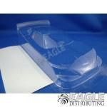 4 Chevy Nascar clear Lexan body .007