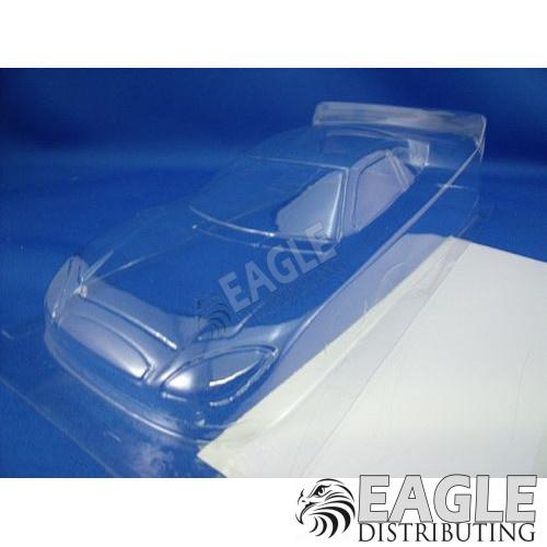 4 Ford Nascar Clear Lexan Stock Car Body .007