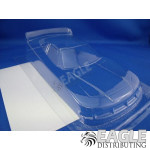 4in COT Stock Car Body, .020 Clear Lexan w/Mask for Rental Cars