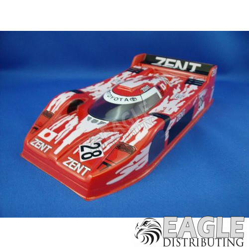Toyota GT1 Red Painted