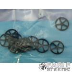 .032 x 1/2 Lite Rubber Front Wheels-JK8720