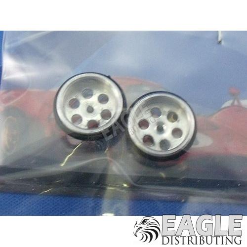 1/16 x 5/8 Drilled Alum. O-ring Front Wheels-JK87241D