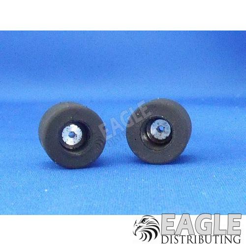 2mm x .730 x .690 1:32 Scale Reverse Hub Rears, Nat. Rubber-JKH87332