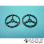 .032 x 1/2 Light Rubber Wing Fronts-KM234I