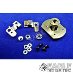 Aluminum Endbell Kit for Hawk Setup with Hardware and BB