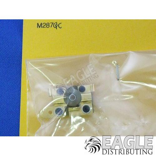 Aluminum Short Endbell for Open/Eurosport motors w/Hardware