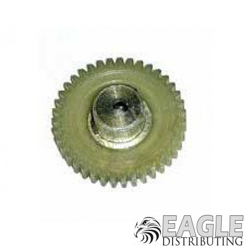 38 Tooth, 64 Pitch Selected polymer gear