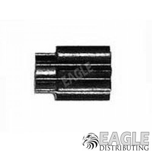 8 Tooth extended length G7 Angled Black Diamond Pinion Gear