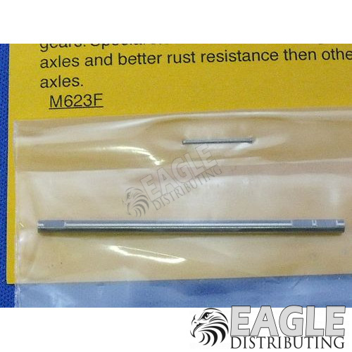 Flatted Ultra Precision Axle, 3/32